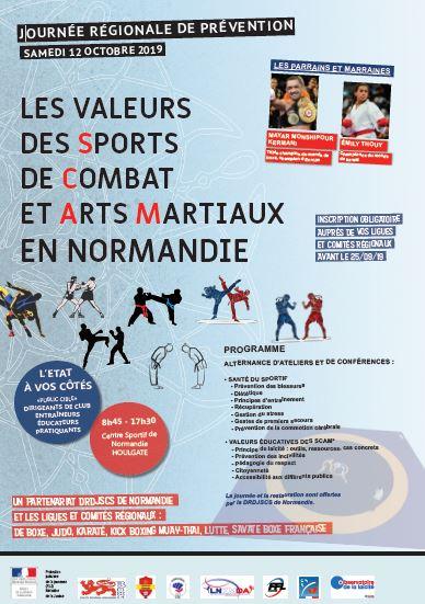 Invitation à la journée sur les valeurs régionales de prévention samedi 12 octobre à Houlgate (inscrivez-vous en ligne !)