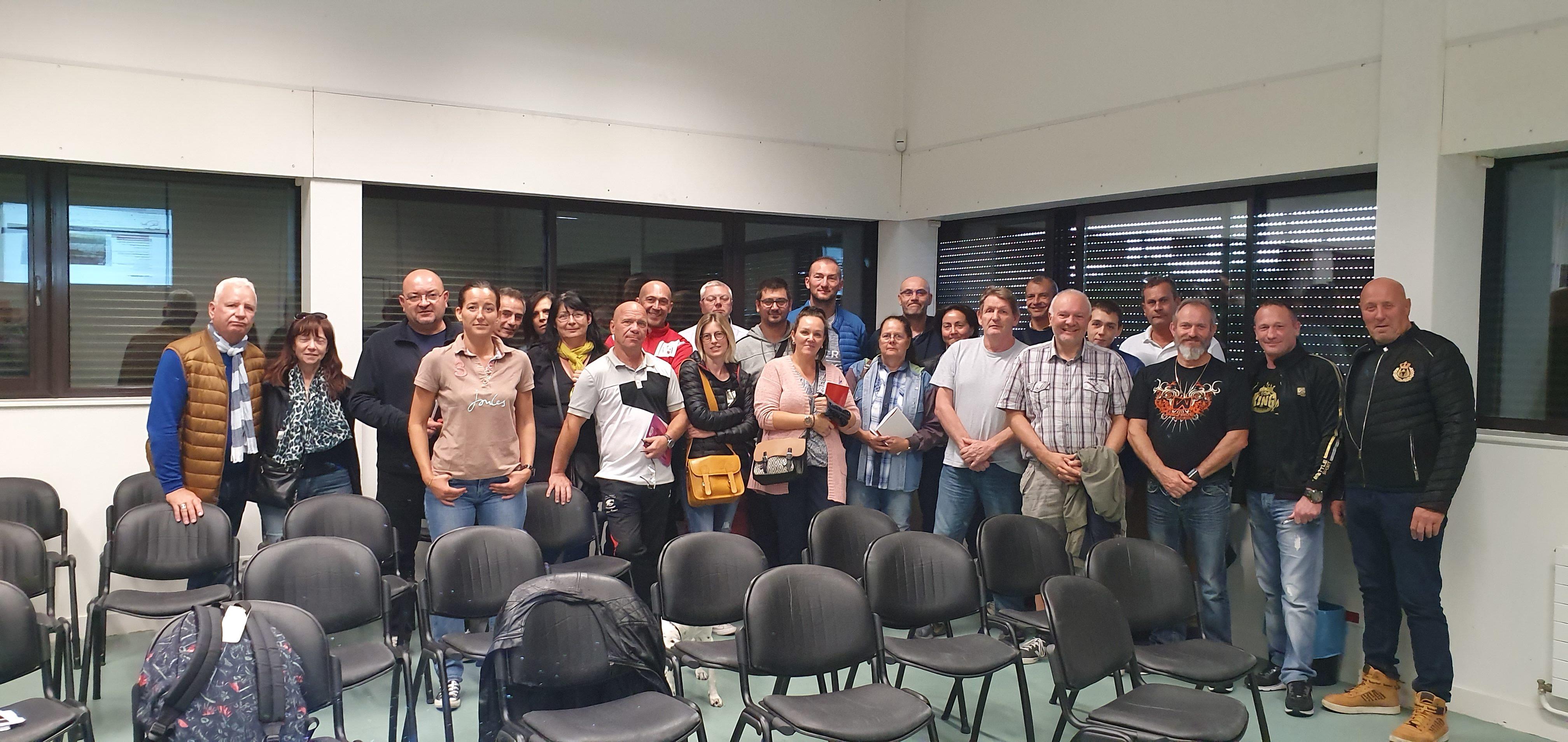 Convivialité et bonne humeur lors de la réunion de rentrée de Ligue du 22 septembre – un grand Merci aux participants