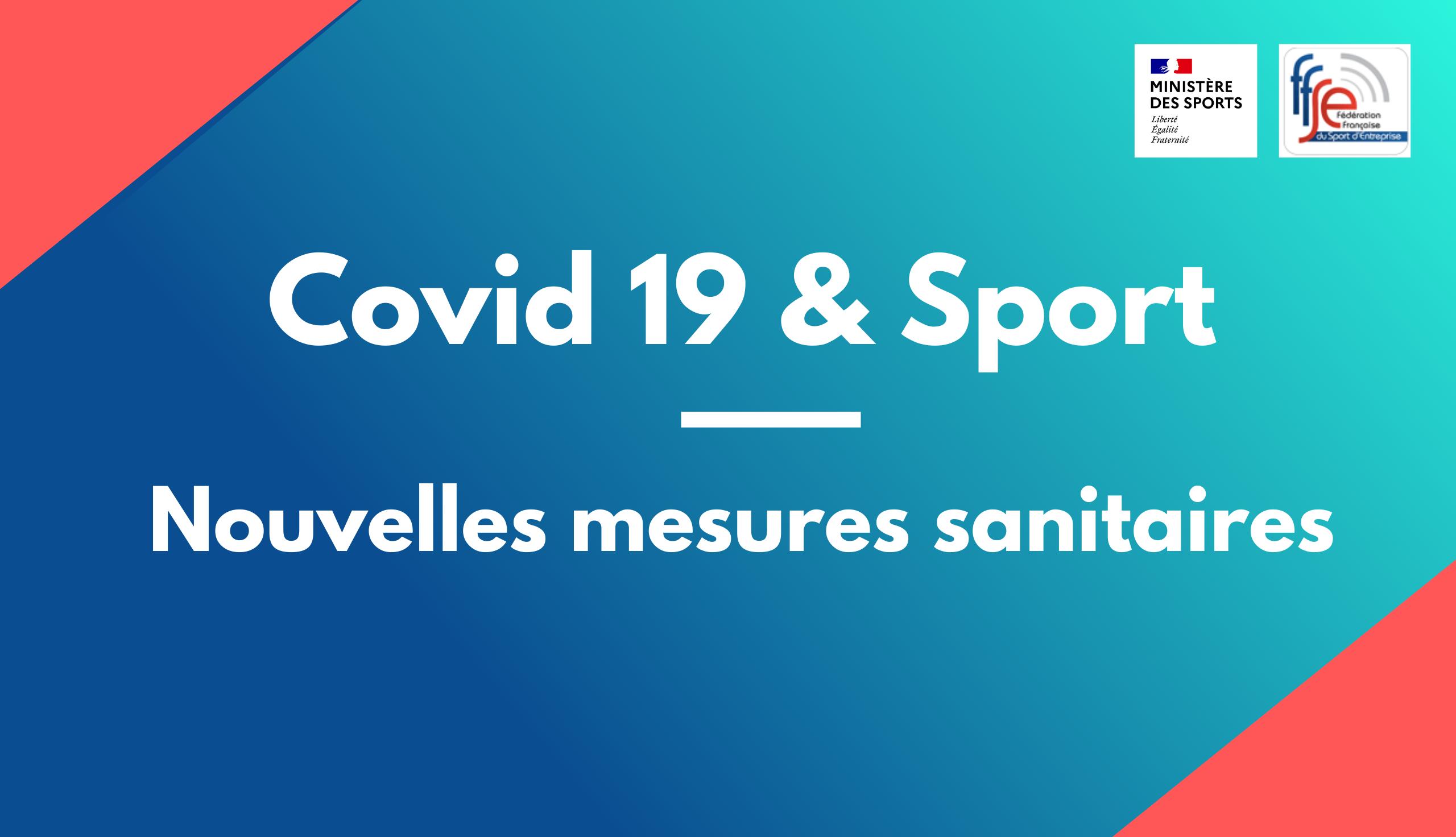 Déclinaison des décisions sanitaires pour le sport à partir du 3 avril 2021
